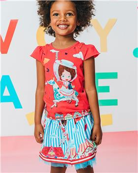 Rosalita Senorita girls T-Shirt and Skirt Edmonton 2-3-20