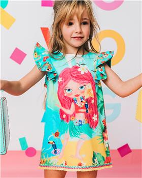Rosalita Senorita girls dress Rocosas 1-20