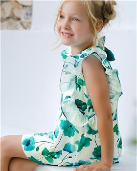 Tutto Piccolo Girls Dress 8240-20 Green