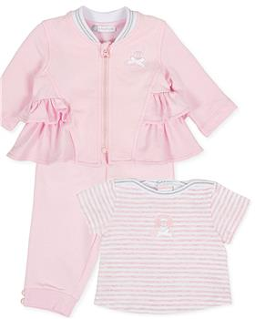 Tutto Piccolo Girls T-shirt & Tracksuit 8680-8980-20 Pink