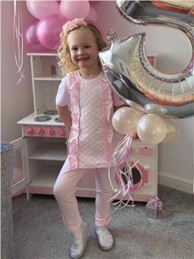 Tutto Piccolo Girls Top & Leggings 8014-8114-20 Pink