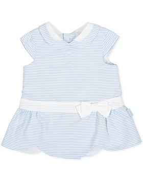 Tutto Piccolo girls dress 8212-20 Blue