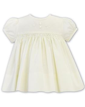 Sarah Louise girls dress 011827-20 Lemon