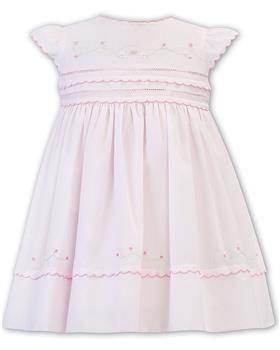 Sarah Louise girls dress 011844-20 Pink