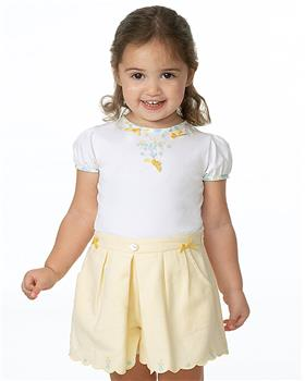 Sarah Louise girls top & skort set 011946-947-20