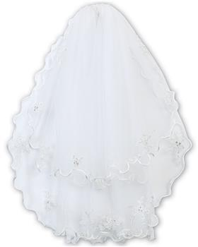 Sarah Louise Veil with headband 055009-20