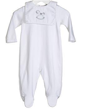 Bluesbaby babygro - sleepsuit VV0232-20 White
