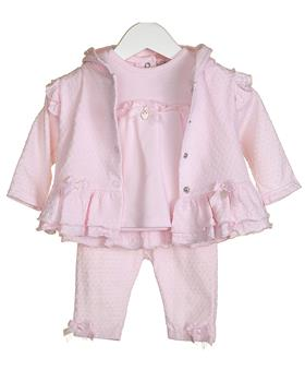 Bluesbaby Girls 3Piece Set VV0259-20 Pink