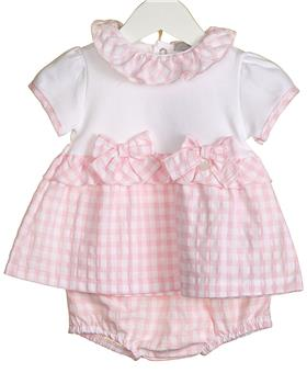 Bluesbaby baby girls dress & knicks VV0266-20