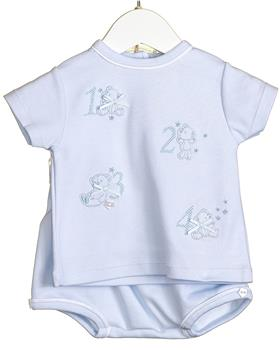 Bluesbaby Boys Short Set VV0275-20 Blue