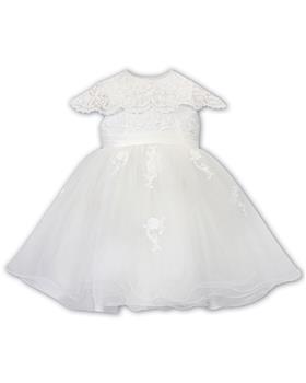 Sarah Louise baby girls ballerina dress 070088-19 Ivory