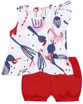 Catimini Girls Tunic Top & Shorts Set CQ19003-26003-20 Pink