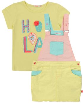 Billieblush girls T-shirt and overalls U15729-12541-20