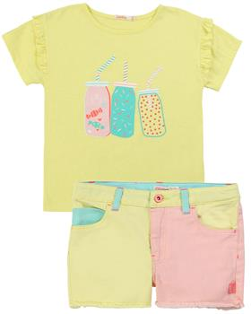 Billieblush girls T-shirt - shorts -jacket U15721-14362-16240