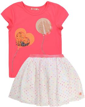 Billieblush girls T-shirt and skirt U15723-13251-20 Pink