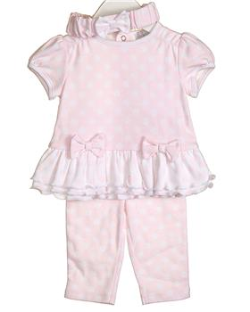 Bluesbaby Girls Outfit VV0060-20 PINK