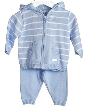 Bluesbaby Boys Knitted Short tracksuit VV0107-20 BLUE