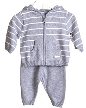 Bluesbaby Boys Knitted Tracksuit VV0125-20 GREY