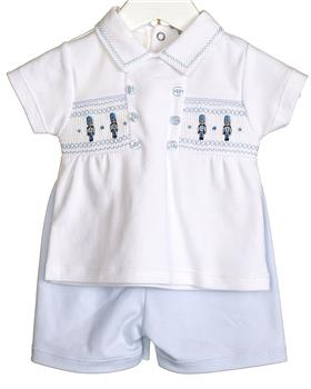 Bluesbaby Boys Outfit VV0215-20 wh/bl