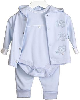 Bluesbaby Boys Tracksuit VV0277-20 BLUE