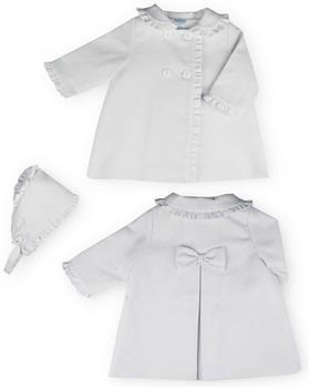 Sardon Girls Jacket & Bonnet 20AB-18 WHITE