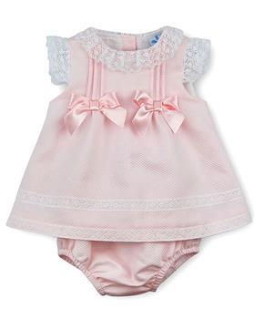 Sardon Baby Girls Dress & Knicks 20AB-30 PINK