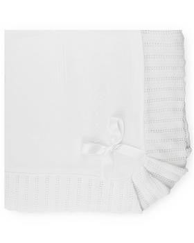 Sardon Baby Blanket 20AM-707 WHITE
