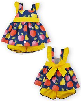 Sardon girls fruit dress and shorts 20AB-96