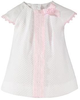 Miranda Baby Girls 27-0028-V-20 WH/PK