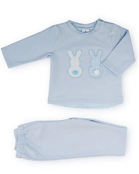 Sardon boys rabbit outfit 20CO-543 Bl/Wh