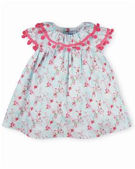 Sardon baby girls floral dress 20LA-467