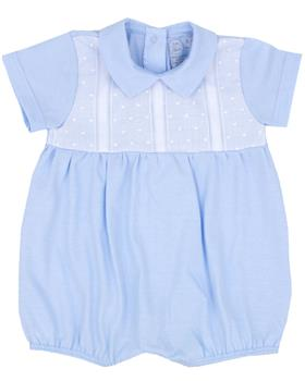 Rapife Boys Sleeveless Romper 4108-20 BLUE