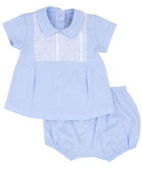 Rapife Boys Tshirt & Bloomer 4114-20 BLUE