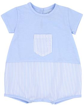 Rapife Boys Sleeveless Romper 4410-20 BLUE