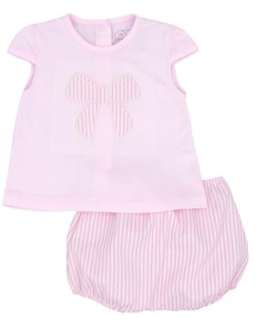Rapife Girls Tshirt & Bloomers 4413-20 PINK