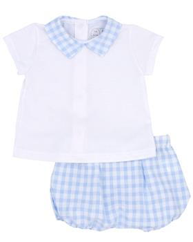 Rapife Boys Tshirt & Bloomer 4514-20 BLUE