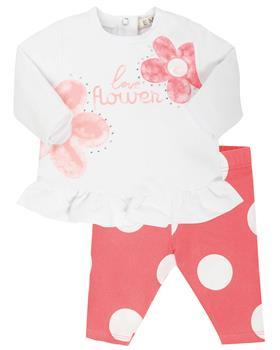 EMC baby girls legging set CO2620-20