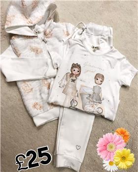 EMC Girls Jog suit CE1222-1353-6201-18