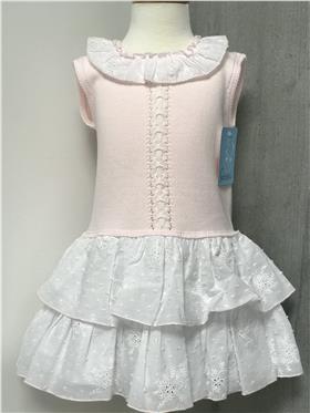 Granlei girls dress 201-163 Pink