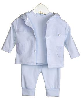 Bluesbaby Boys 3 Piece Outfit VV0242-20 BLUE