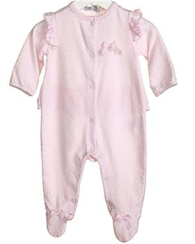 Bluesbaby Girls Babygrow VV0256-20 pink