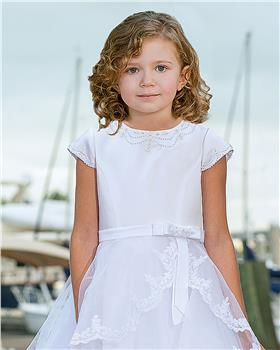 Sarah Louise girls ceremonial ankle length dress 090062-20