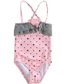 I Do girls swimming suit 4J302-20 Pk/Blck