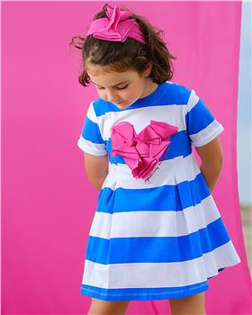 Agatha Ruiz electric blue dress 9125-20