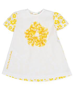 Agatha Ruiz Girls Dress 9123-20 YELLOW