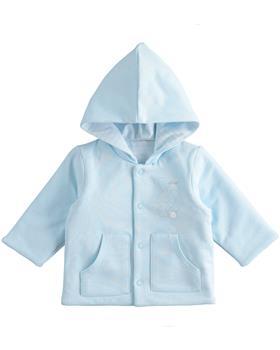 I Do boys knitted jacket 4J047-20 Blue