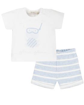 EMC baby boys T shirt and short CO2661-20
