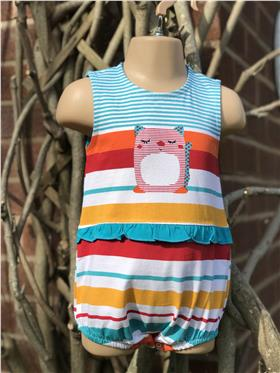 Sulfy baby girls summer all in one 3317-19 Turq