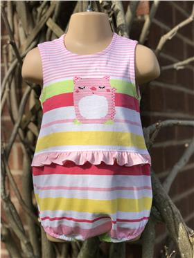 Sulfy baby girls summer all in one 3317-19 Pink