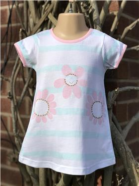 Sulfy baby girls summer dress 3315-19 Pink